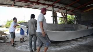 Download Building a 28 foot Quepos Charter Fishing Boat! Video