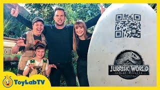 Download Jurassic World Fallen Kingdom Dinosaur Surprise Toys with Chris Pratt, Bryce Dallas Howard & T-Rex Video