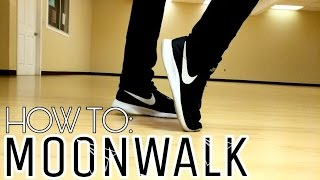 Download HOW TO: LEARN TO MOONWALK IN 5 MINUTES! 3 EASY STEPS! Video