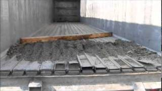 Download USED BENSON ALUMINUM WALKING FLOOR TRAILER Video