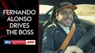Download Fernando Alonso takes McLaren boss Zak Brown for a spin 🏎️💨 Video