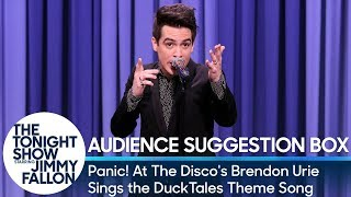 Download Panic! At The Disco's Brendon Urie Sings the DuckTales Theme Song Video