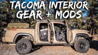 Download Tacoma Interior MODS and GEAR (Overland, Offroad, Daily Driver) Video