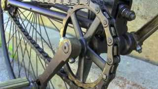 Download 1891 Lovell Diamond Bicycle at 2014 Minnesota Antique & Classic Bicycle Club Swap Meet Video