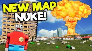 Download NUKING THE NEW LEGO CITY MAP! - Brick Rigs Roleplay Gameplay - New Map Creations Video