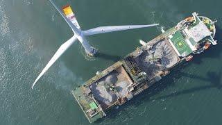 Download Boskalis - falllpipe vessel Seahorse at windfarm West of Duddon Sands Video