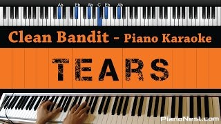 Download Clean Bandit - Tears ft. Louisa Johnson - Piano Karaoke / Sing Along / Cover with Lyrics Video