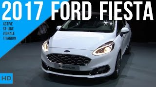 Download 2017 Ford Fiesta ST-Line / Titanium / Active / Vignale Video