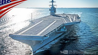 Download USS Gerald R. Ford Operational Test (Nov. 2019) - EMALS, AAG Cable, CIWS, Small Boat, Helicopter Video