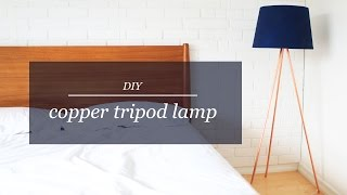 Download DIY COPPER TRIPOD LAMP | THE SORRY GIRLS Video