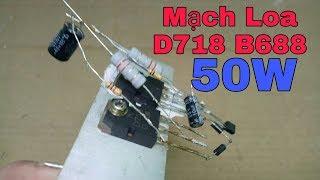 Download [VVTV]CÁCH LÀM MẠCH LOA D718 B688 MỚI NHẤT V6 Video