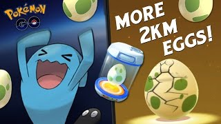 Download HATCHING EVEN MORE 2KM EGGS! (POKEMON GO EASTER EVENT) Video