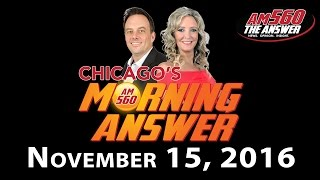 Download Chicago's Morning Answer - November 15, 2016 Video
