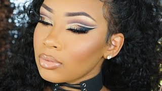 Download DRAMATIC DOUBLE CUT CREASE | AALIYAHJAY Video
