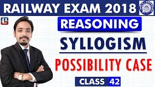 Download Syllogism | Possibility Case | Class - 42 | Reasoning | RRB | Railway ALP / Group D | 8 PM Video