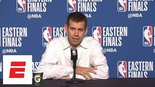 Download Brad Stevens jokes about Kobe Bryant's 'Detail' episode on Jayson Tatum   ESPN Video