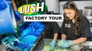 Download LUSH FACTORY TOUR Video