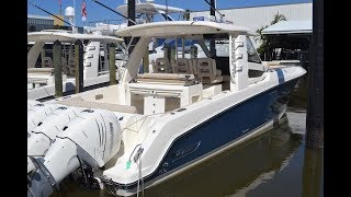 Download 2018 Boston Whaler 420 Outrage 60th Anniversary Edition For Sale at MarineMax Naples Yacht Center Video