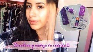 Download Decolora y matiza tu cabello con Violeta de Genciana (evita el amarillo de la decoloración) Video