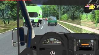 Download OMSI Gameplay Video im Mercedes-Benz Sprinter 313CDI Video