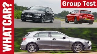 Download Mercedes A-Class vs BMW 1 Series vs Audi A3 2019 review – Which is the best family car?   What Car? Video