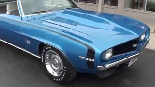 Download 1969 Chevrolet Camaro SS $45,900.00 Video