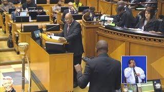 Download Drama In Parliament - Jacob Zuma vs Maimane - NO Love At All Video