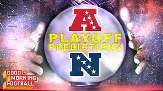 Download 2018 Playoff Predictions | Good Morning Football | NFL Network Video