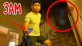 Download DO NOT SPIN FIDGET SPINNERS AT 3AM! (GHOST) Video