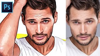 Download How to Turn Photos into Cartoon Effect - Photoshop Tutorial Video