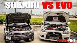 Download SUBARU VS EVO BATTLE AT HSVE Video