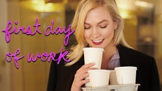 Download First Day at My New Job | Karlie Kloss Video