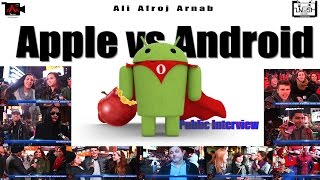 Download Apple vs Android || Public Interview Video