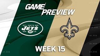 Download New York Jets vs. New Orleans Saints | NFL Week 15 Game Preview | NFL Playbook Video