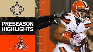 Download Saints vs. Browns | NFL Preseason Week 1 Game Highlights Video