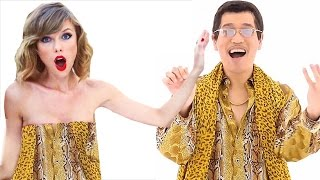 Download Pen Pineapple Apple Pen ✒🍍🍎✒ PPAP in 9 Music Styles Video