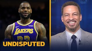 Download Chris Broussard expects a 'reinvigorated' LeBron as Lakers vie for a playoff spot | NBA | UNDISPUTED Video