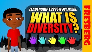 Download Leadership Video for Kids: What is diversity? (Educational Cartoon) Video