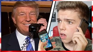 Download CALLING DONALD TRUMP HE ACTUALLY ANSWERED! | Donald Trumps Leaked Phone number prank Call USA vs UK Video
