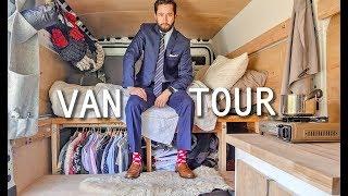 Download Young Professional Tries Vanlife | Custom Van Build & Tour Video