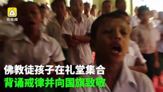 Download Myanmar's Buddhist school offers free teaching to Muslim children Video