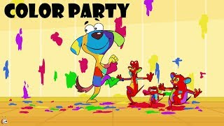 Download Rat-A-Tat |'Doggie Bandmaster & Three Mice Color Party Cartoons'| Chotoonz Kids Funny Cartoon Videos Video