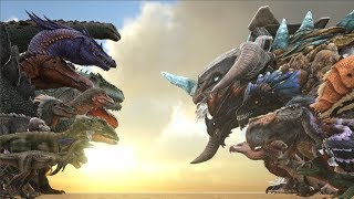 Download EVERY TheIsland Creature VS EVERY OTHER Creature in ARK | Cantex Video
