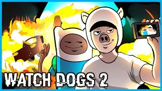 Download Watch Dogs 2 Multiplayer Funny Moments w/ BasicallyIDoWrk! - Extreme Vlogging, Parkour, and Jackass! Video