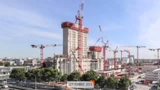 Download Time Lapse Futur Palais de Justice de Paris/Future Paris Law Courts Video