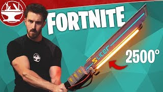 Download Fortnite Sword in Real Life BURNS EVERYTHING! Video