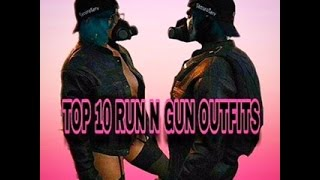 Download GTA 5- TOP 10 RUN AND GUN MALE/FEMALE OUTFITS ღ Video