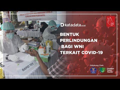 Bentuk Perlindungan Bagi WNI Terkait Covid-19 | Katadata Indonesia