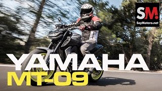 Download Yamaha MT-09 2017: Prueba Naked Video