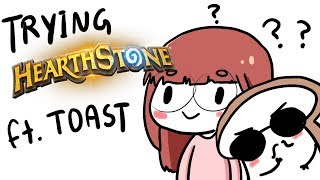 Download Lily plays (learns?) Hearthstone :D ft. DisguisedToast Video